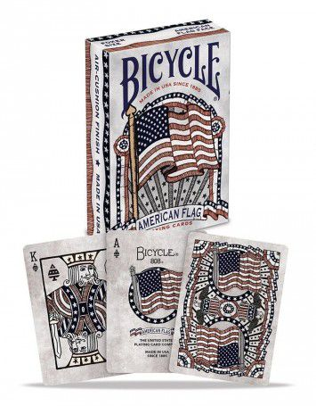 CARTE DA POKER BICYCLE 1pz AMERICAN FLAG