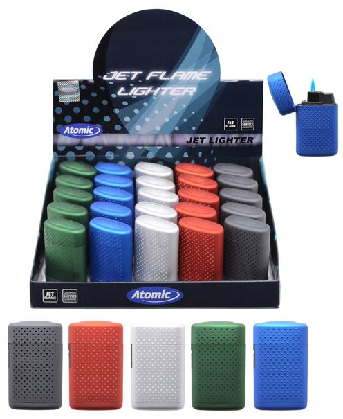 ACCENDINO ATOMIC TURBO BLUE JETFLAME 25pz