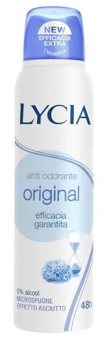 DEODORANTE LYCIA DEO SPRAY ORIGINAL 150ml - C12