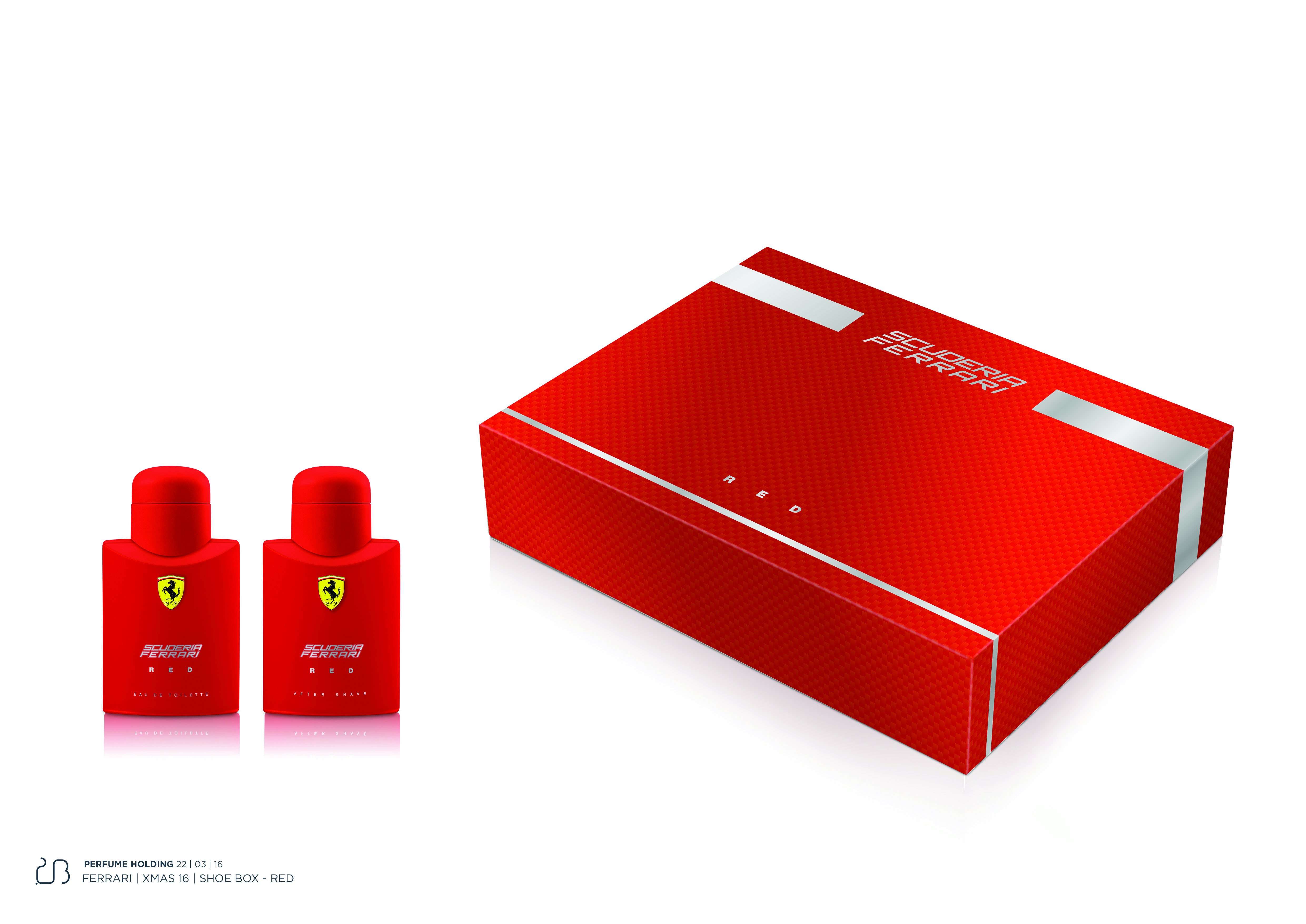 COFANETTO FERRARI SCUD RED etv-as 75ml