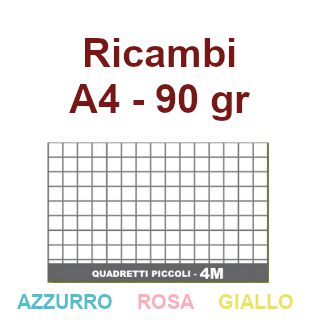 RICAMBI F.TO REG. TRIS COLOR 4MM