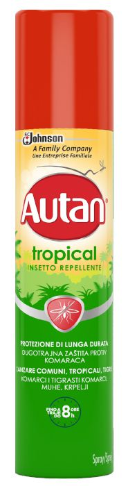 ANTIZANZARE AUTAN TROPICAL SPRAY 100ml 1pz