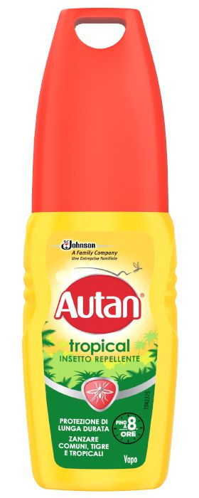 ANTIZANZARE AUTAN TROPICAL LOZ VAPO 100ml VERDE/GIALLO