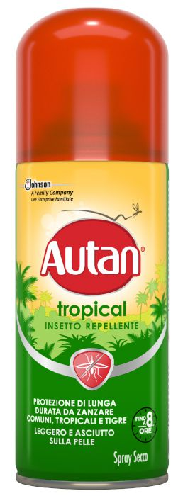 ANTIZANZARE AUTAN TROPICAL SPRAY 100ml 1pz SECCO