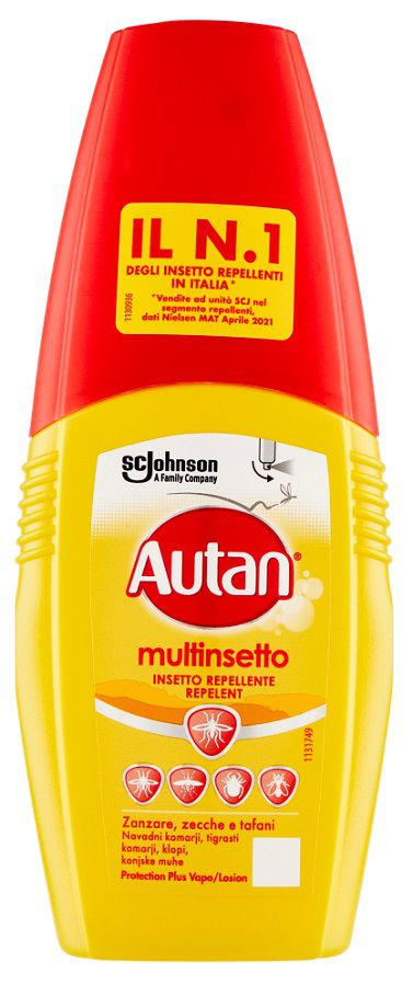ANTIZANZARE AUTAN PLUS VAPO 100ml 1pz GIALLO