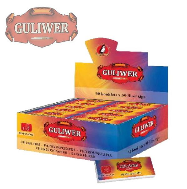 FILTRI CARTA POP GULIWER 50pz